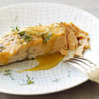 Honey-Mustard Roasted Salmon